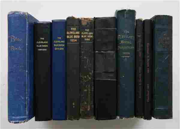 8 Cleveland Blue Books