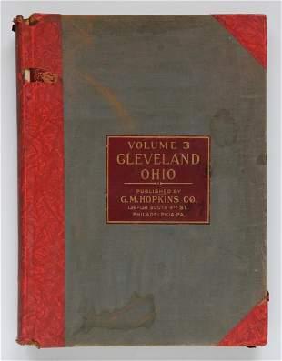 Vol 3 Plat Book of Cleveland Ohio
