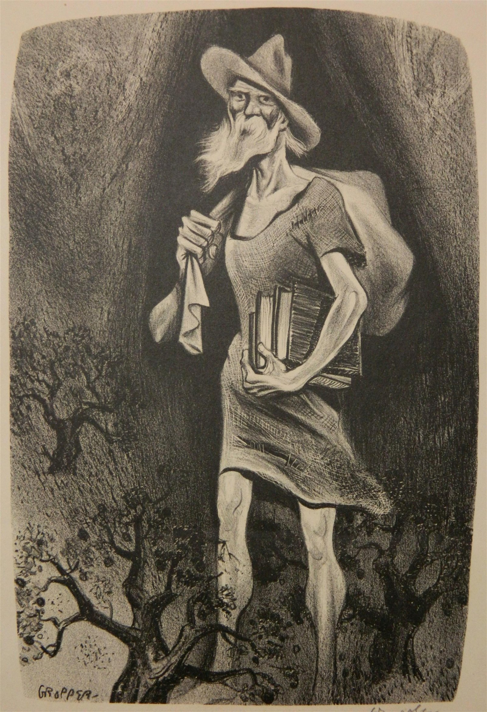 William Gropper lithograph