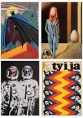 4 Contemporary prints