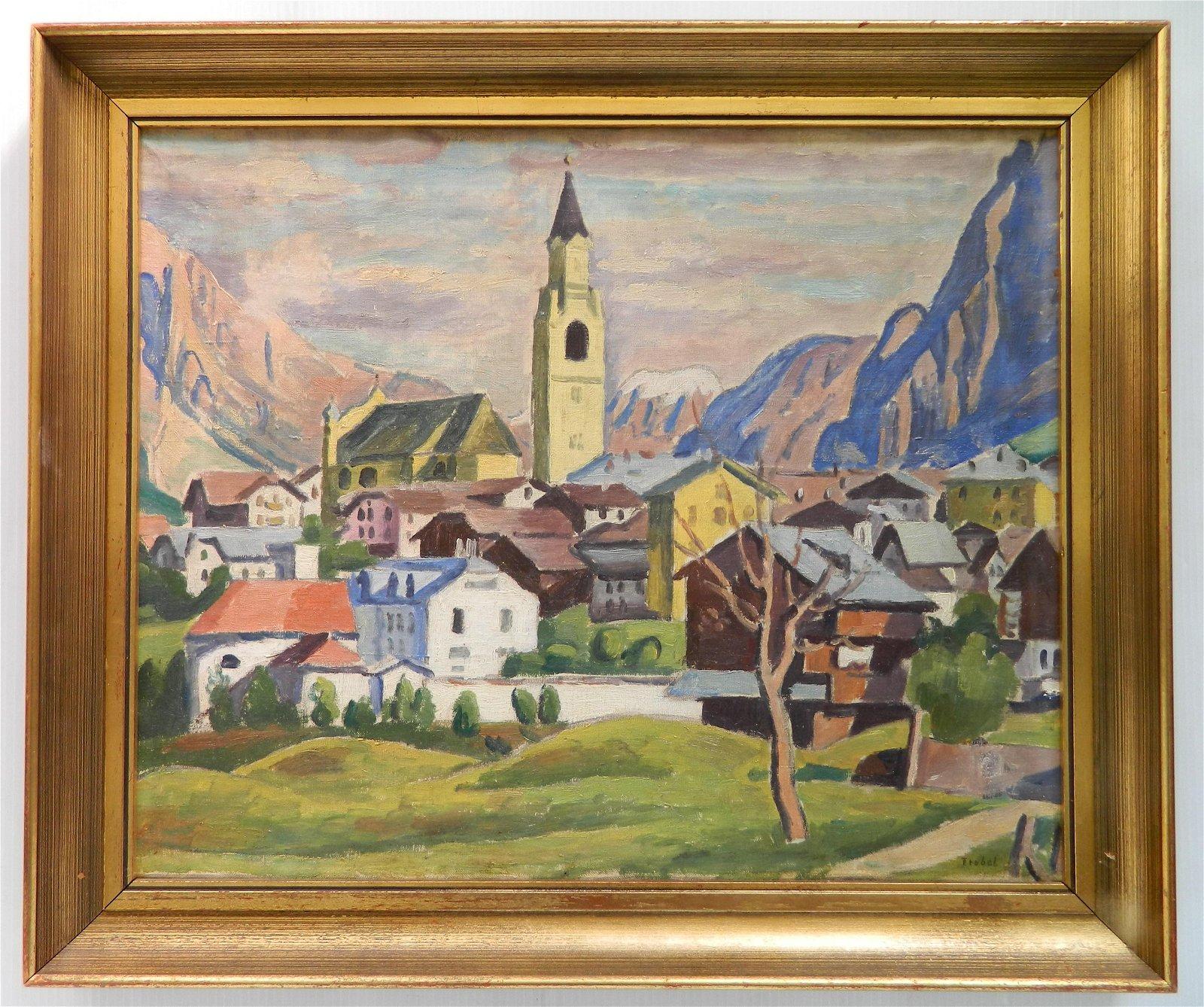 Otto Trubel oil