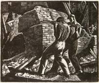 William Wolfson wood engraving