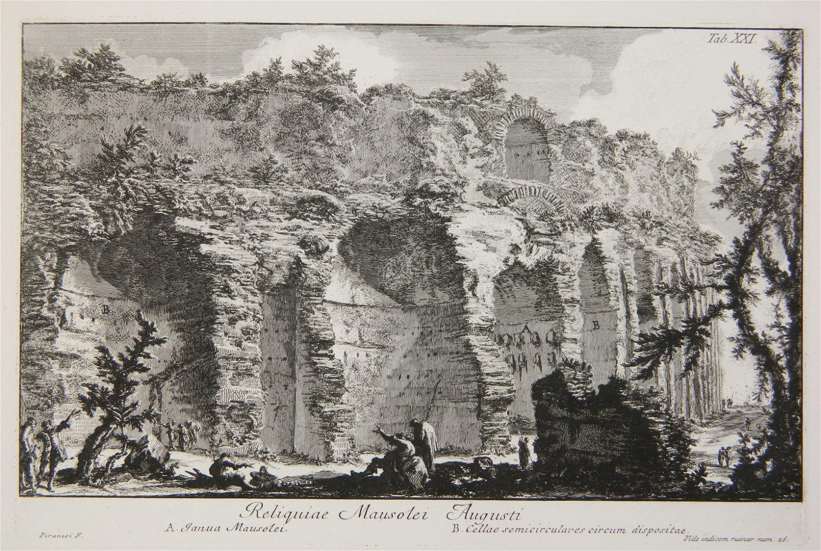 Giovanni B. Piranesi etching