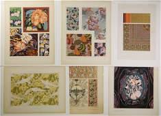 6 European prints