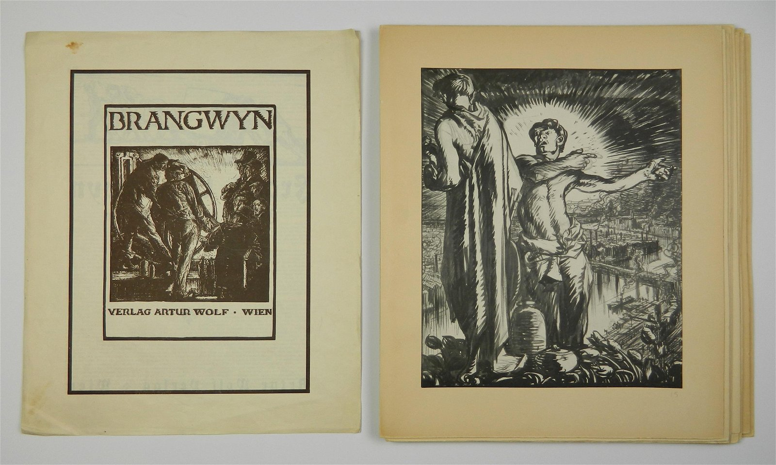 Frank Brangwyn- 11 prints