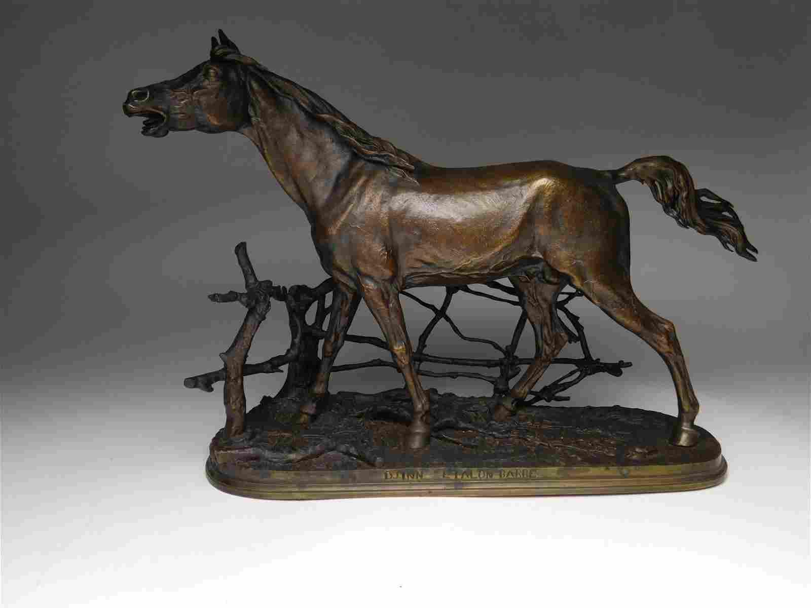 Pierre Jules Mene bronze sculpture