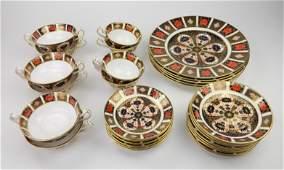 Crown Derby porcelain
