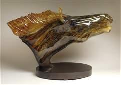 David Bennett glass sculpture