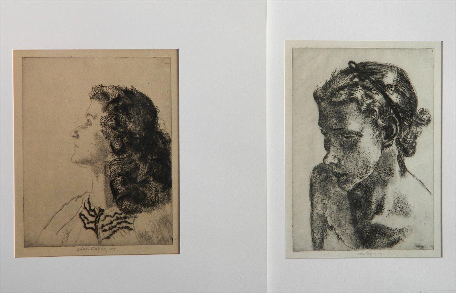 John Copley lithographs