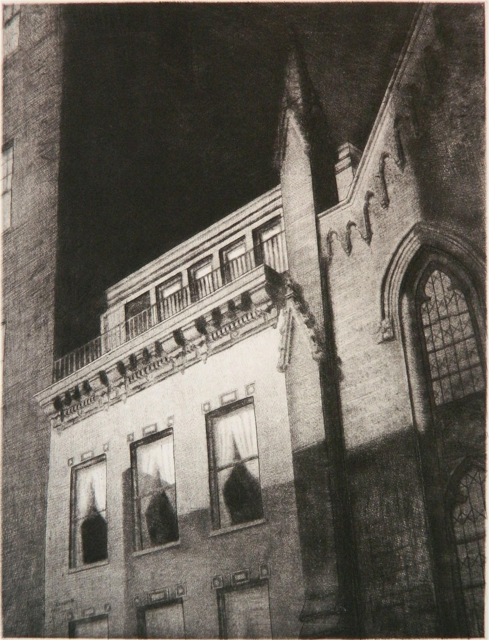 Armin Landeck etching and drypoint