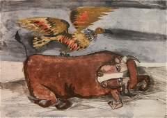 Graciela Rodo Boulanger etching