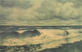 Joseph Henry Sharp monotype