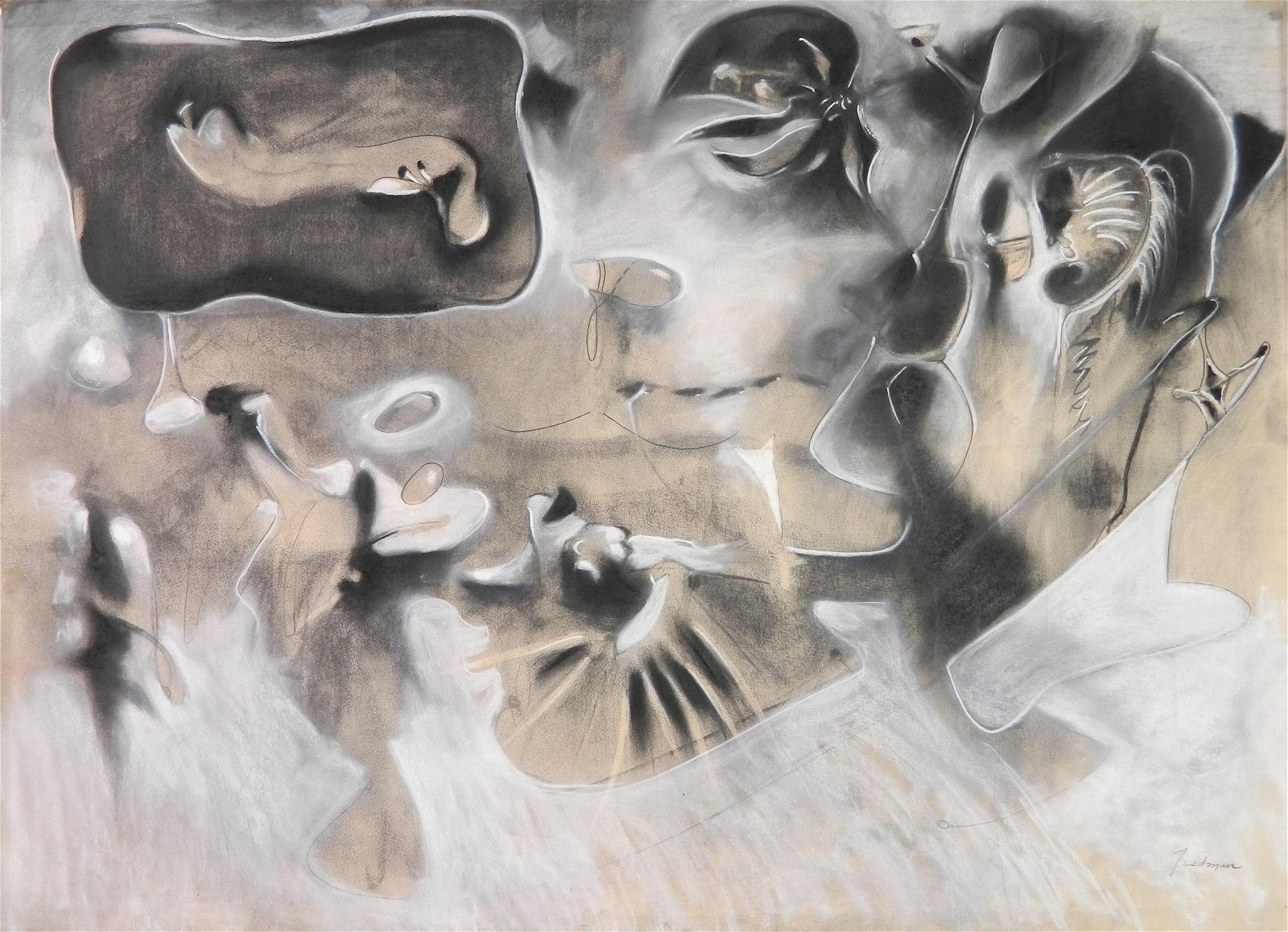 Randall Tiedman pastel