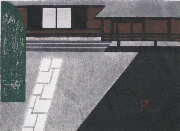 19: Kiyoshi Saito woodcut