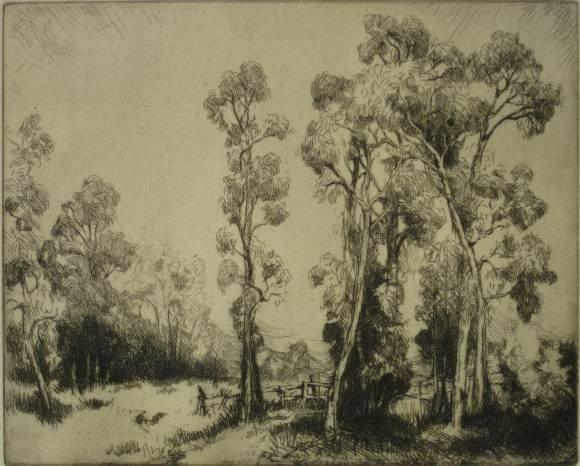 153: Gene Kloss etching