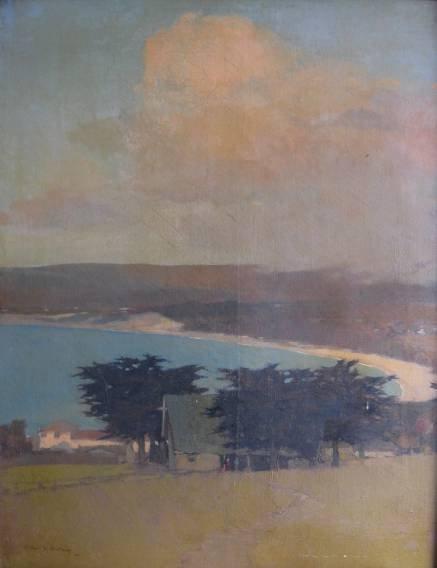 196: Arthur Mathews oil