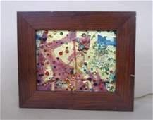 335: Edris Eckhardt glass panel