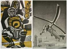2 American prints