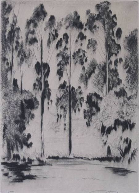 10: Ray Payne etching