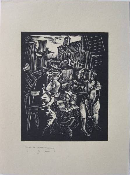 12: 5 contemporary wood engravings