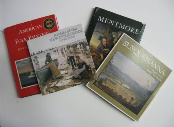 3: Lot of books on American subjects