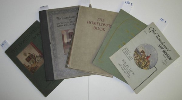 5: ''The Homelovers Book'' 6 vols.