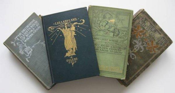 17: Books  on children's literature and art magazines