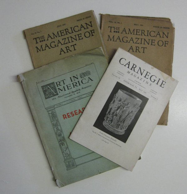 17D: Lot of various magazines, 20th c.