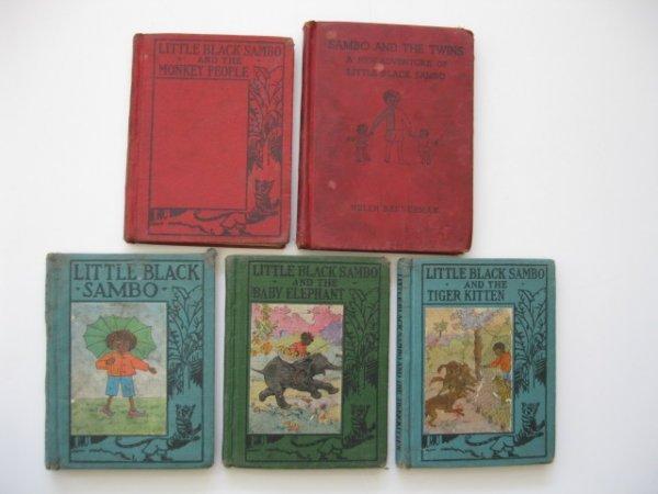 18: 5 Little Black Sambo books