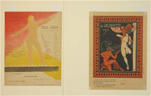 2 French lithographs