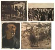 4 Kathe Kollwitz prints
