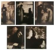 5 Alfredo Muller etchings