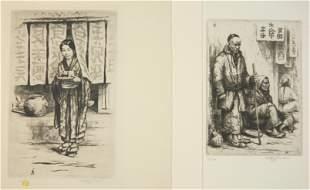 2 Tavik F. Simon etchings