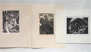 3 Woodcut Society publications