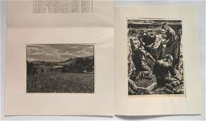 2 Woodcut Society publication prints