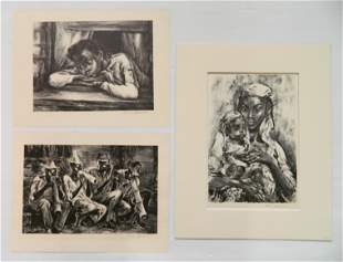 3 Marion Greenwood lithograph