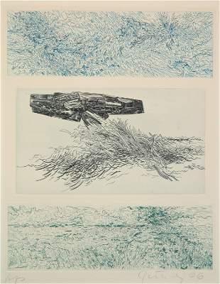 Gabor Peterdi etching