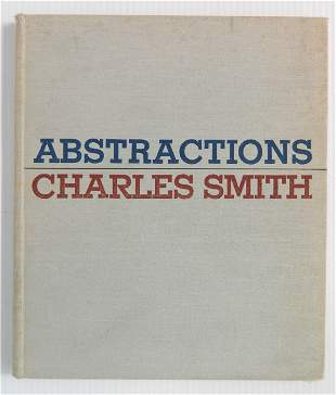 Charles Smith 'Abstraction'' book