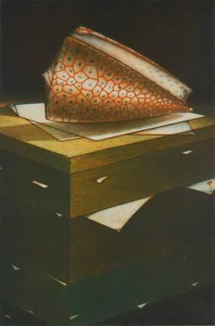 Michel Estebe mezzotint