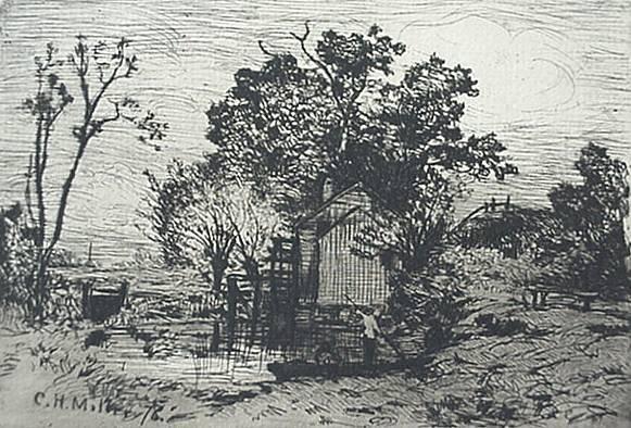 4: American and European etchings
