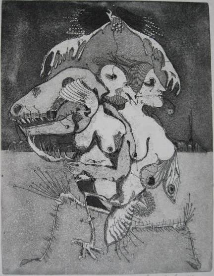 18: Contemporary American prints, ca. 1970's