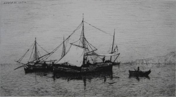 22: Adolphe Appian etching