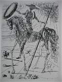 106 Salvador Dali etching
