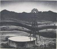 212: after Peter Hurd lithograph