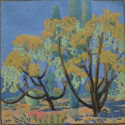 23: Gustave Baumann woodcut