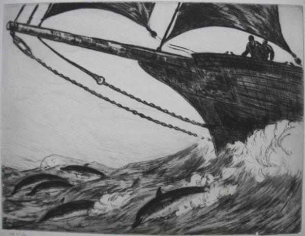 24: Gifford Beal etching