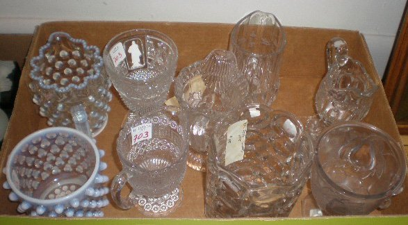 703: Lot of American pressed glass