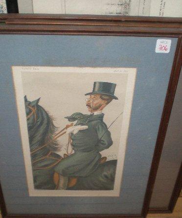706: Vanity Fair 'Spy' lithographs