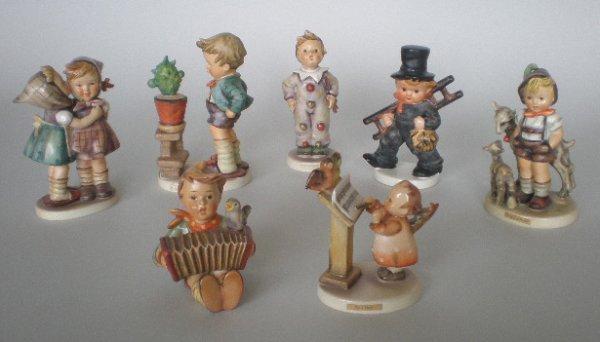 709: 6 Hummel figurines