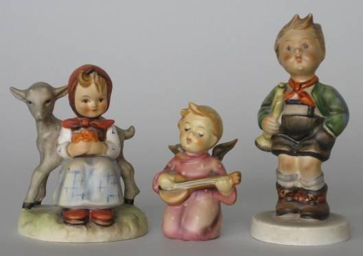 710: Three Hummel figurines